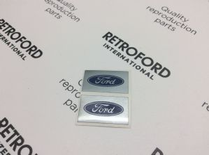 Ford spotlamp decal x2